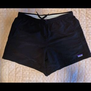 Black Baggie Patagonia Shorts